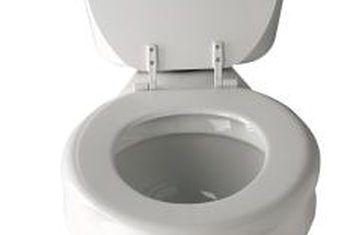 Hoe om `n los flens op `n toilet te herstel